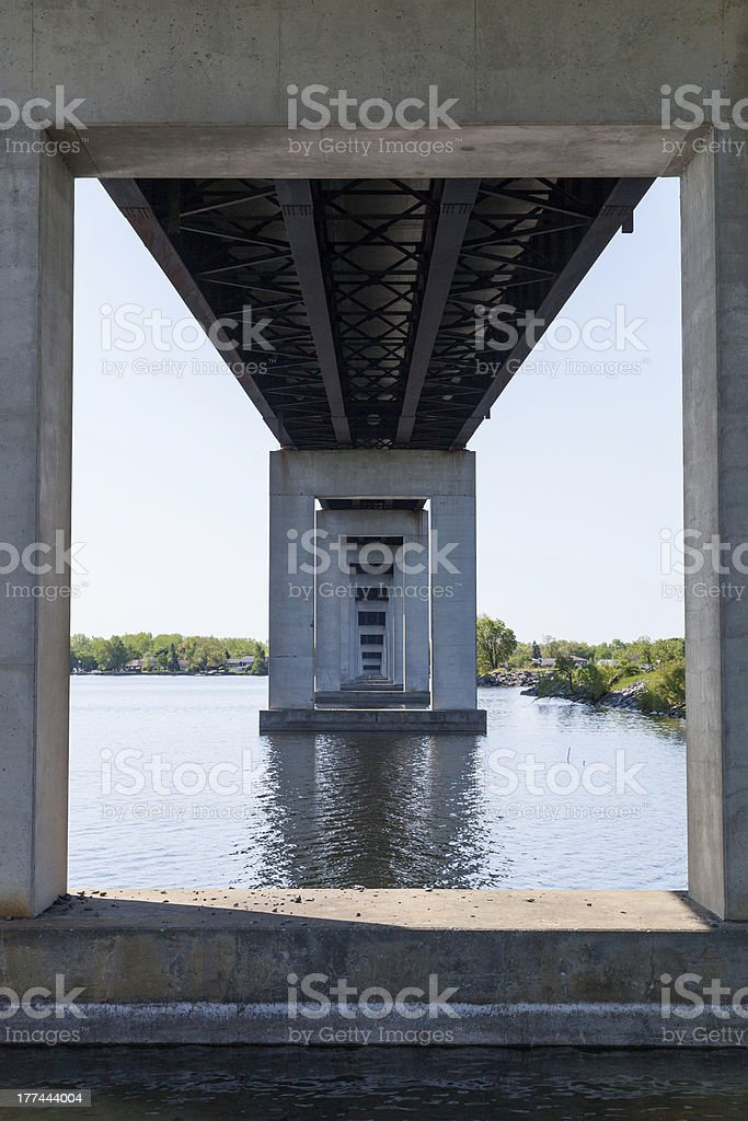 Supports royalty-free stock photo