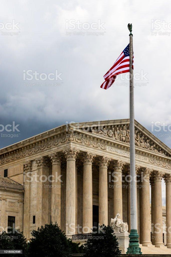 Supreme Court 1 stock photo