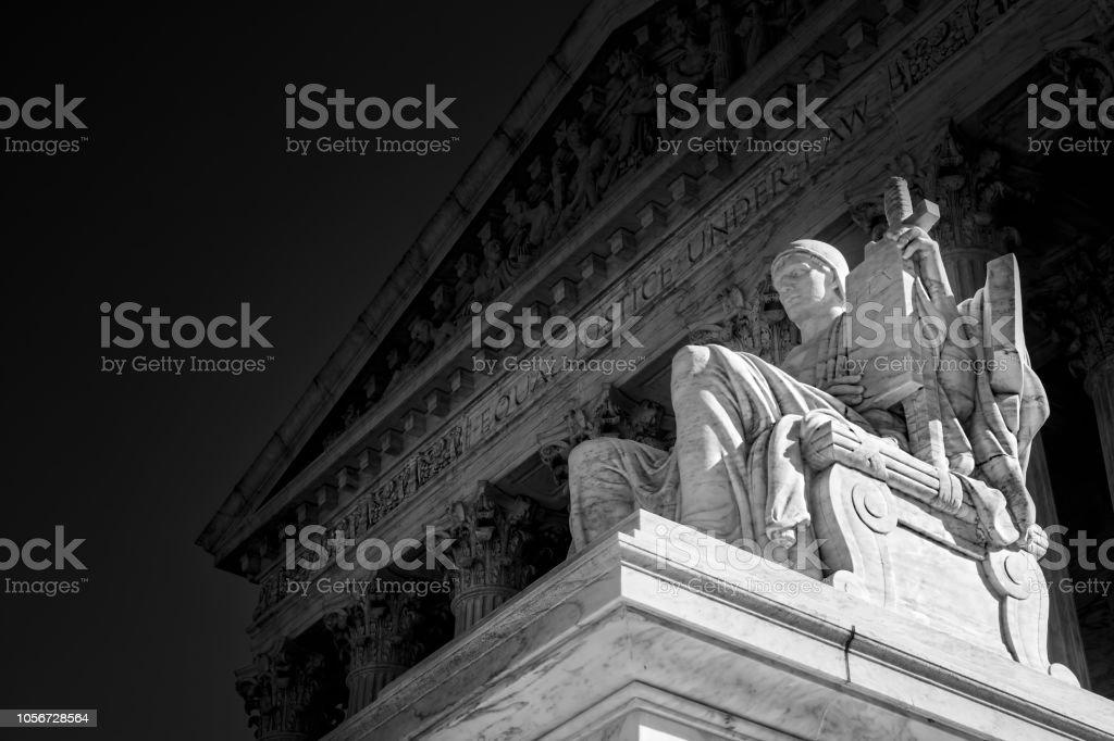 Supreme Court 16 stock photo