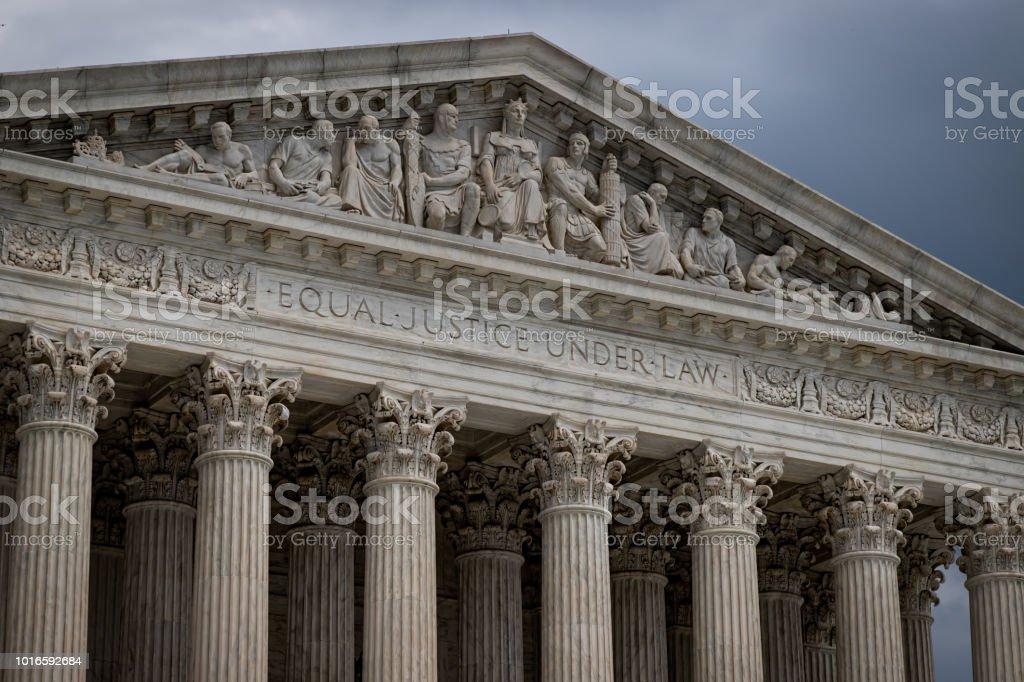 Supreme Court 2 stock photo