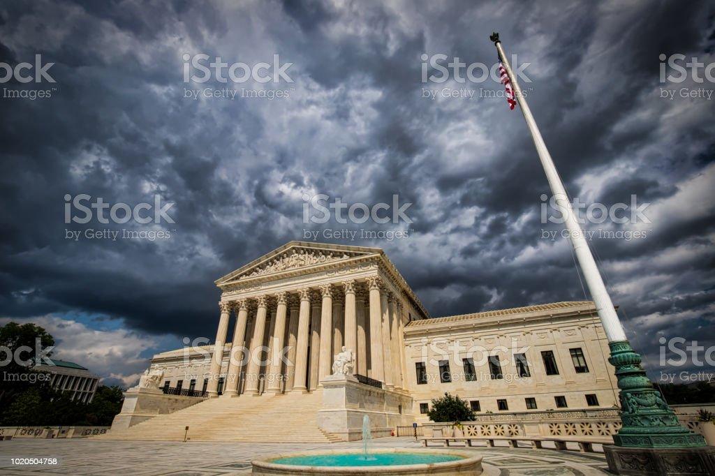 Supreme Court 8 stock photo