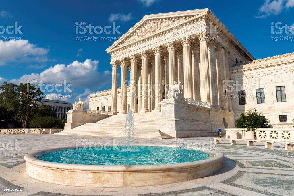 US Supreme Court at sunset – zdjęcie