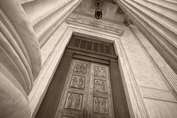 Supreme Court Building Entrance