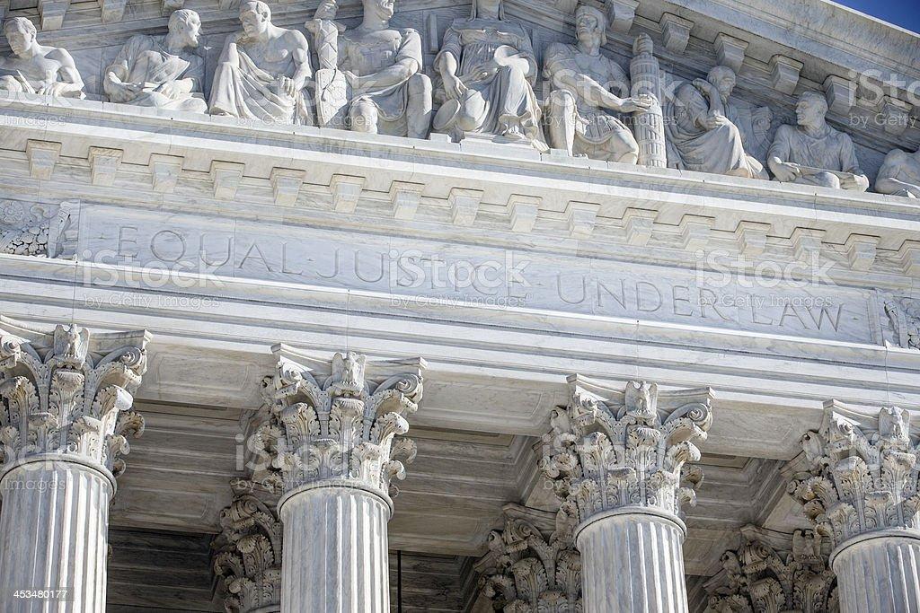 Budynek Sądu Najwyższego Stanów Zjednoczonych w Waszyngtonie DC – zdjęcie