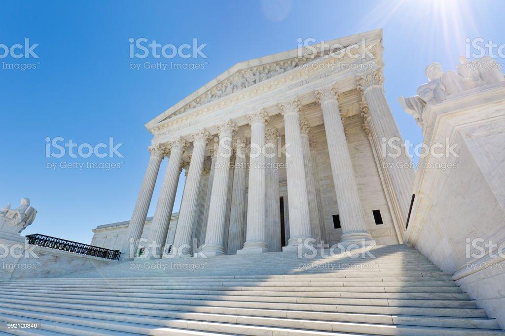 U.S. Supreme Court Building in Washington DC USA – zdjęcie