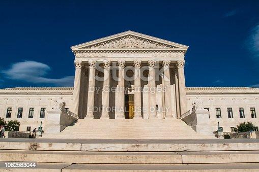 Washington, USA - June 23, 2017 United States Supreme Court Building