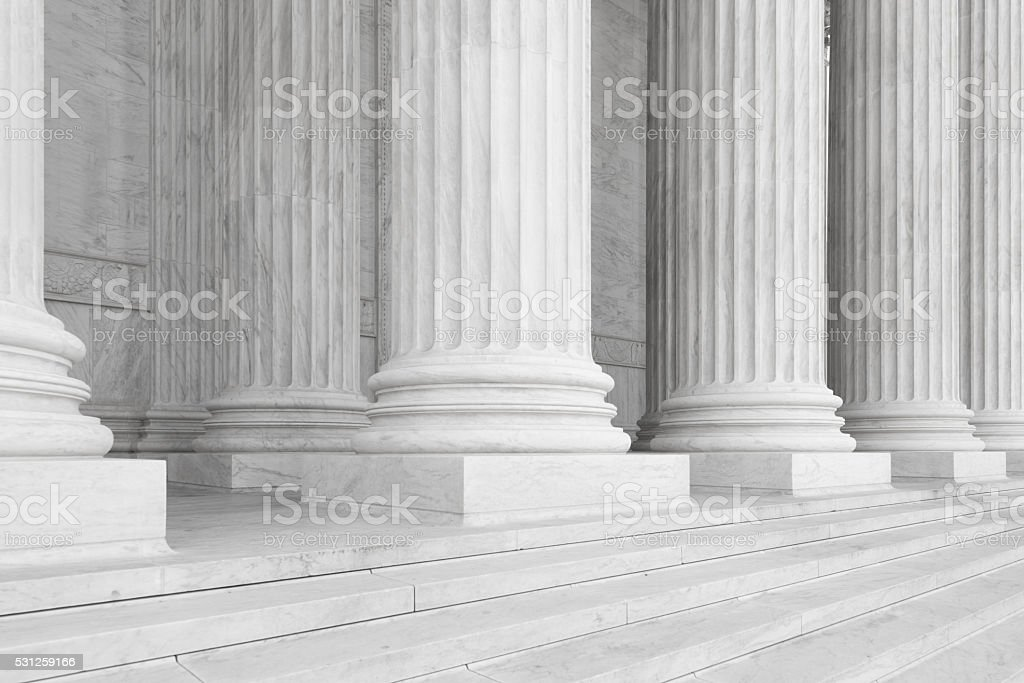 US Supreme Court Building stock photo