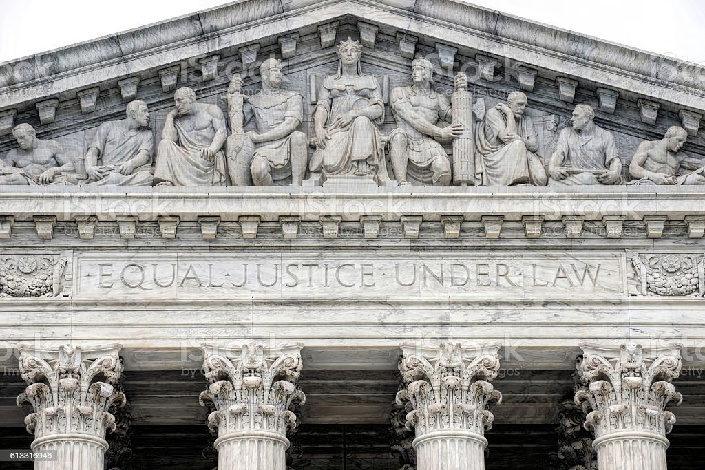 Supreme Court Building. stock photo