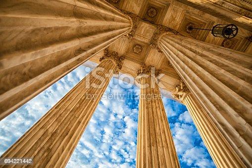 istock Supreme Court Columns 694221442