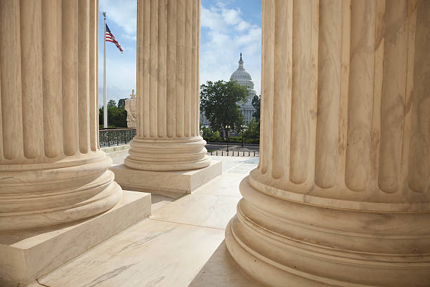 Supreme court columns with american flag and us capitol picture id621474914?b=1&k=6&m=621474914&s=612x612&w=0&h=uovciut 39s7tcznixwlhgiycc3ssvx8cu4ynghqbla=