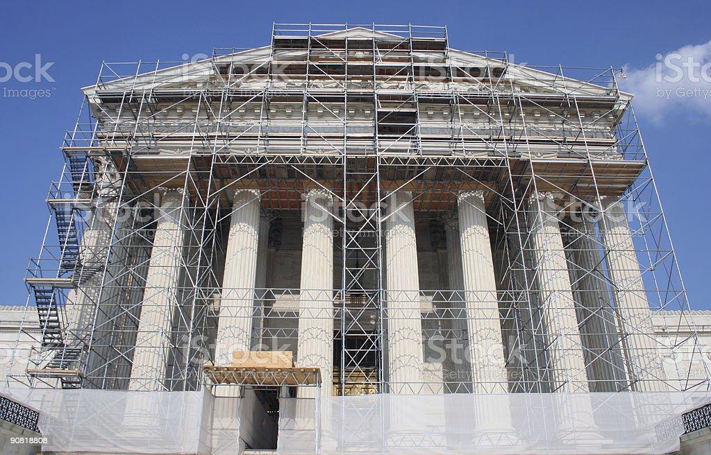 supreme court in washington dc royalty-free stock photo