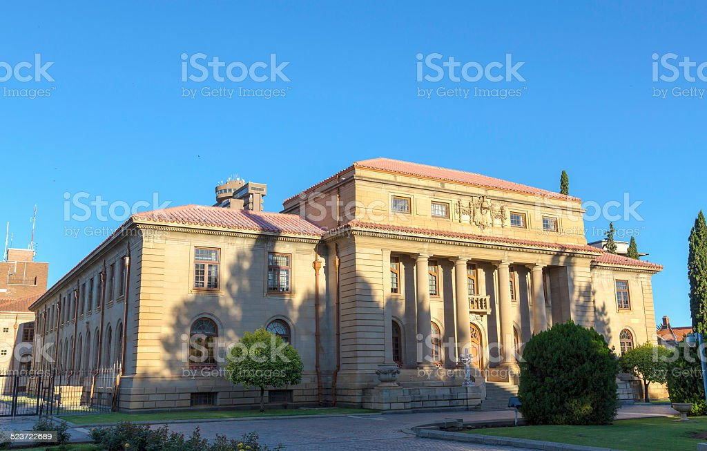 Supreme Court of Appeal of South Africa stock photo
