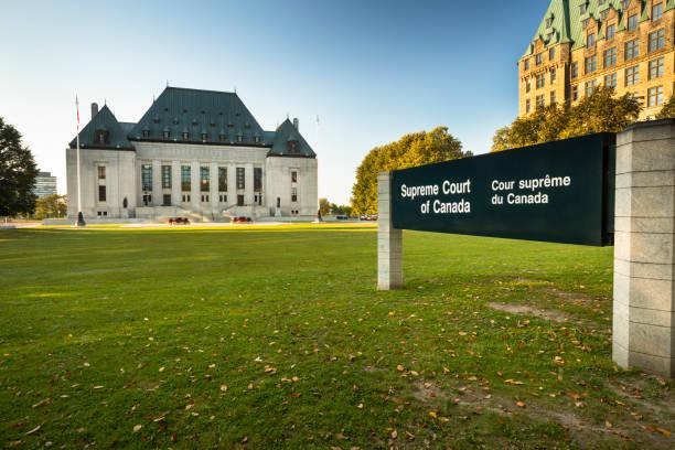 Supreme Court of Canada, Ottawa, Ontario stock photo
