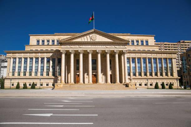 亞塞拜然共和國最高法院巴庫。亞塞拜然。 - supreme court 個照片及圖片檔