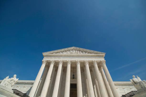 Supreme Court of the United States in Washington, DC – Foto