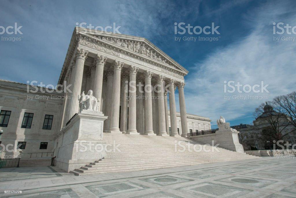 Supreme Court of the United States in Washington, DC – zdjęcie