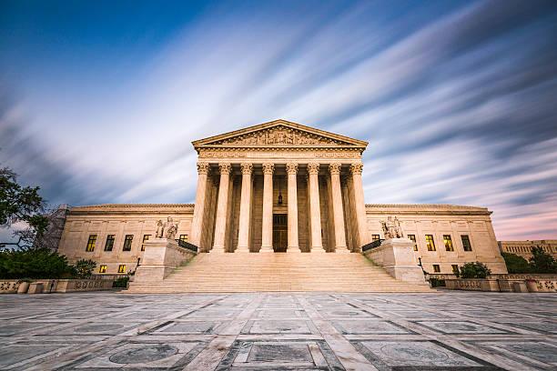supreme court of the united states - abd yüksek mahkemesi binası stok fotoğraflar ve resimler