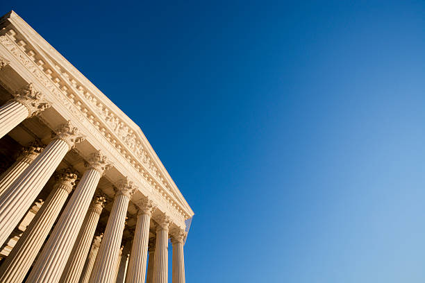 us supreme court - abd yüksek mahkemesi binası stok fotoğraflar ve resimler