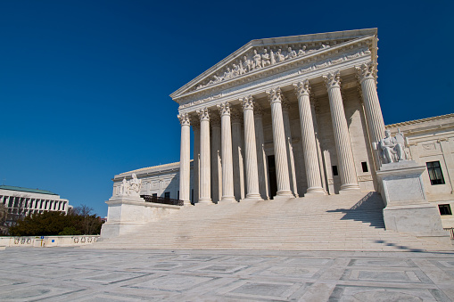 Supreme Court Stock Photo - Download Image Now