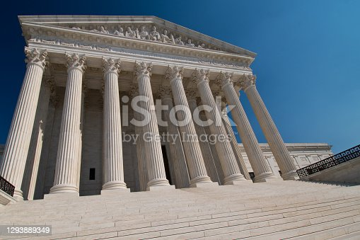 Supreme Court building - highest court in the land