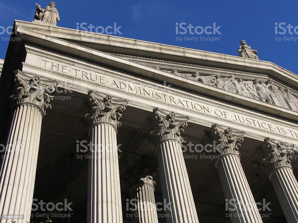 Supreme court royalty-free stock photo