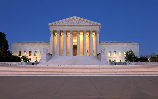 US Supreme Court  us supreme court building stock pictures, royalty-free photos & images