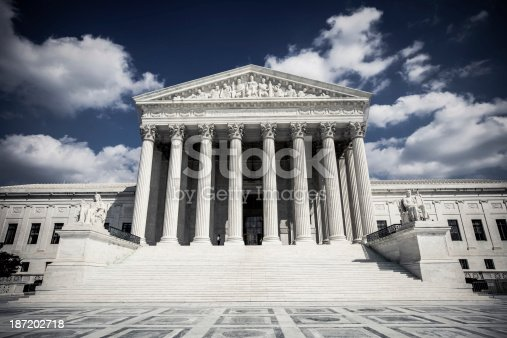 US Supreme Court in Washington, D.C.