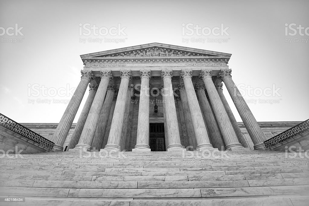 U.S. Supreme Court stock photo