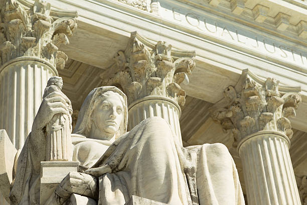 US Supreme Court US Supreme Court in the detail. us supreme court building stock pictures, royalty-free photos & images