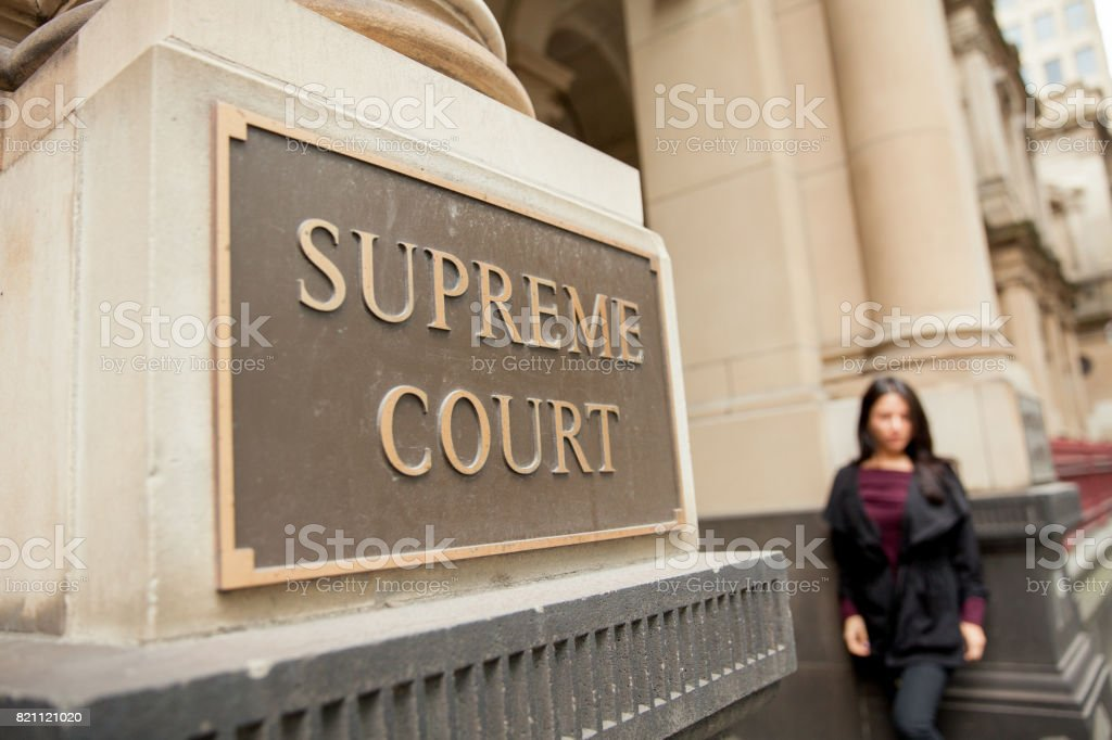 Supreme Court stock photo