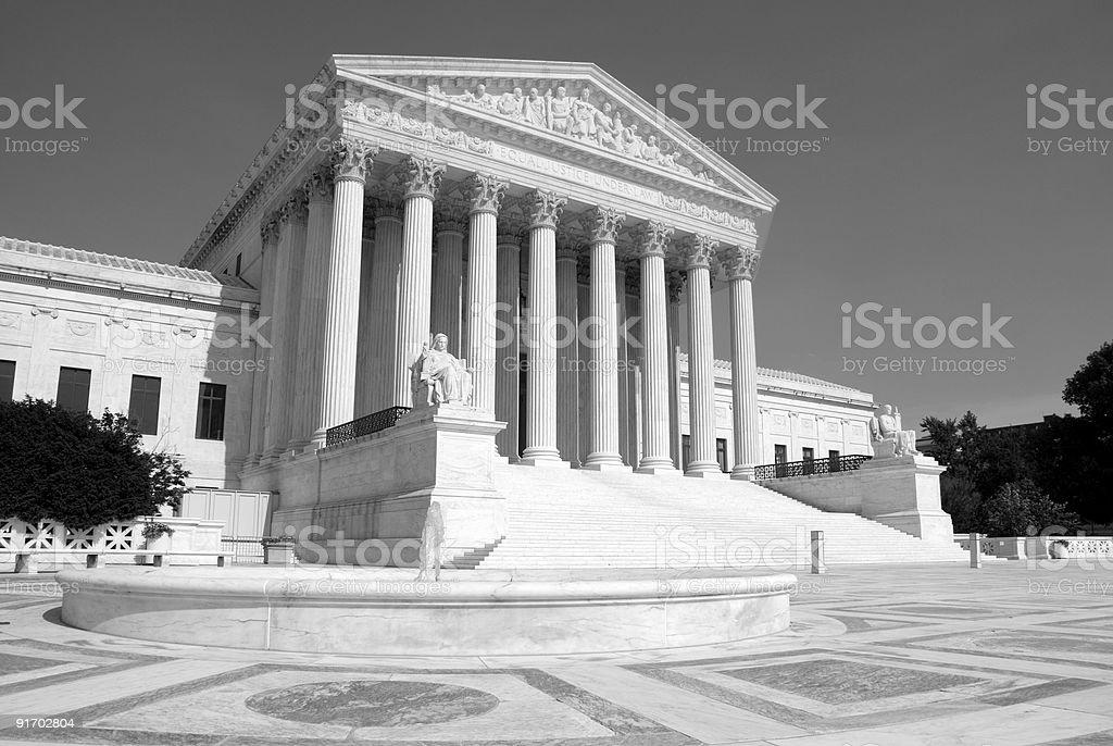 US Supreme Court royalty-free stock photo