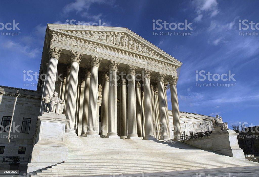 대법원 royalty-free 스톡 사진