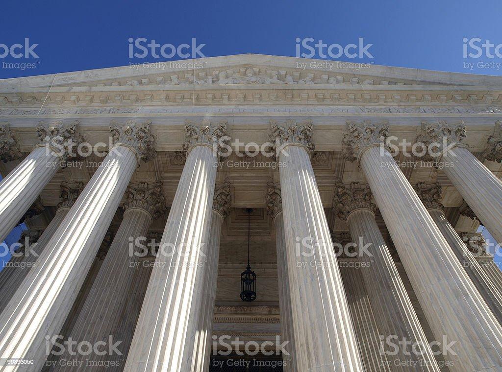 Supreme Court Pillars - Royalty-free Architectural Column Stock Photo