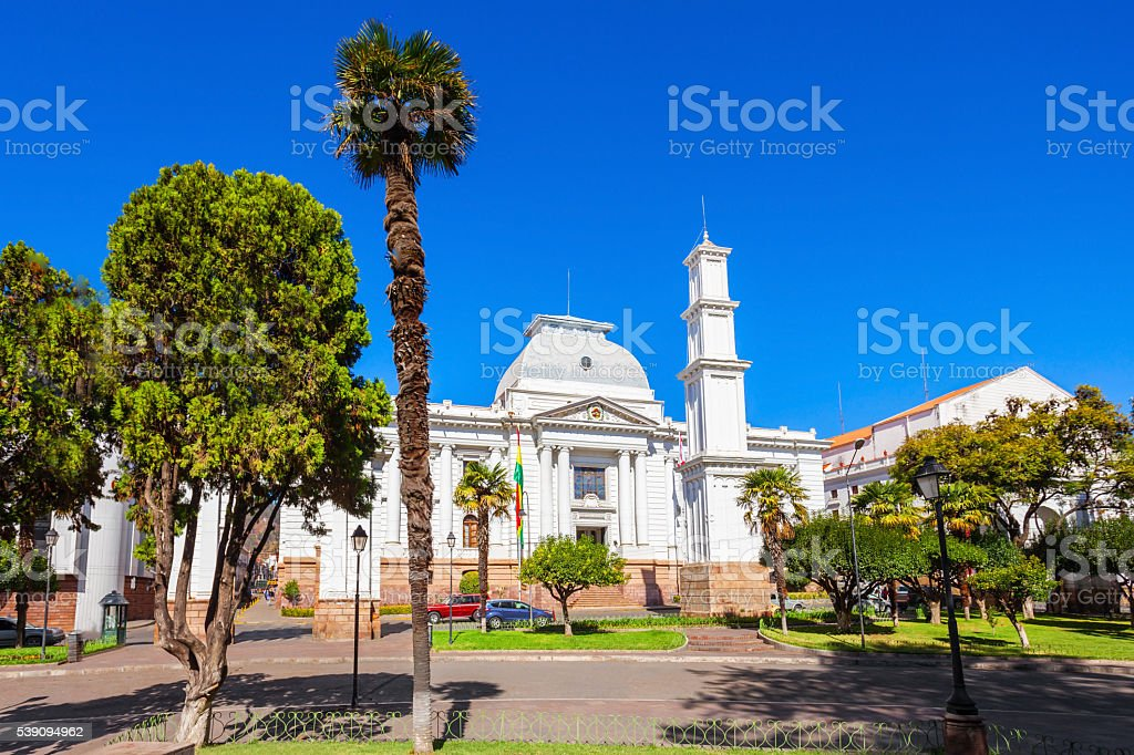 Supreme Court, Sucre stock photo