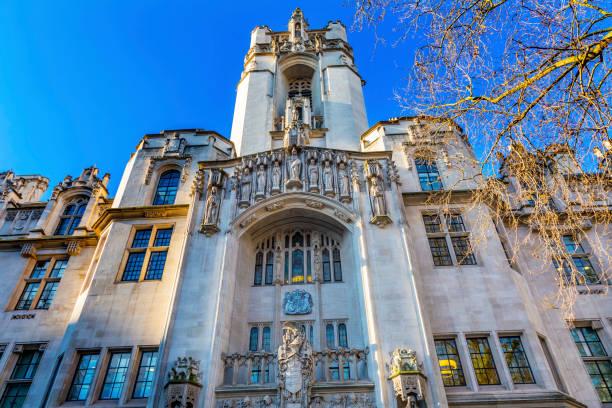 yargıtay i̇ngiltere middlesex guildhall westminster londra i̇ngiltere birleşik - anayasa mahkemesi stok fotoğraflar ve resimler