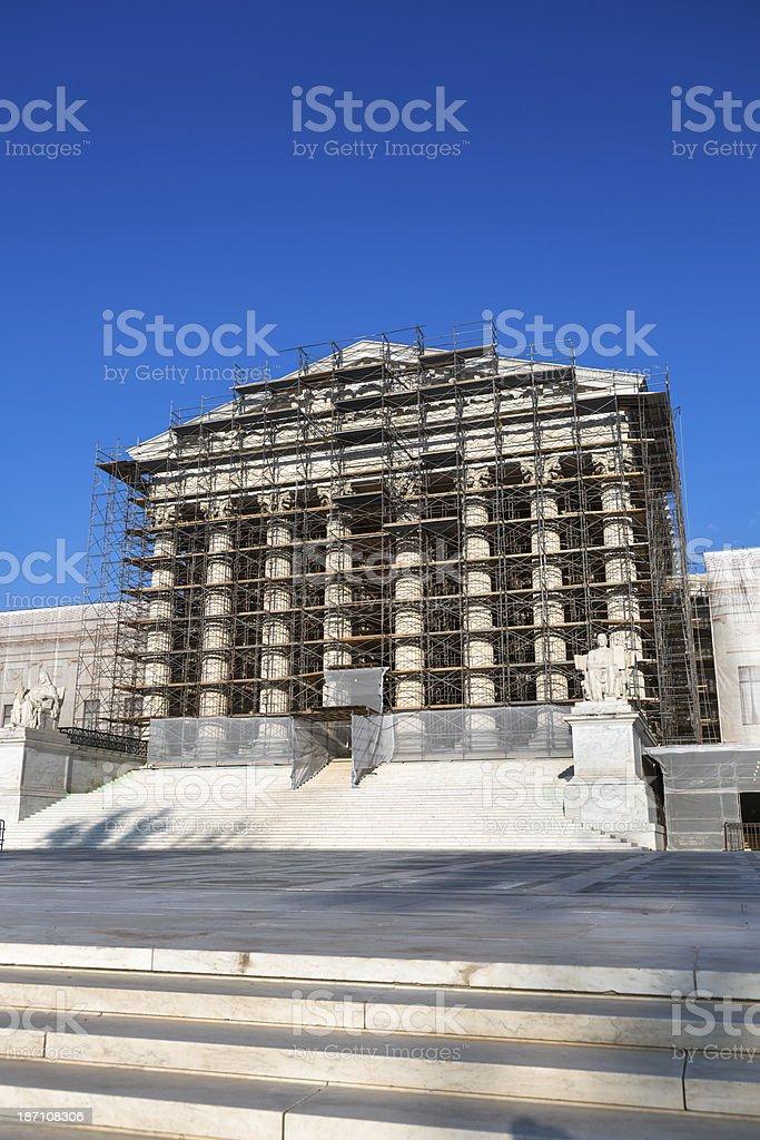 Supreme Court, Washington DC royalty-free stock photo