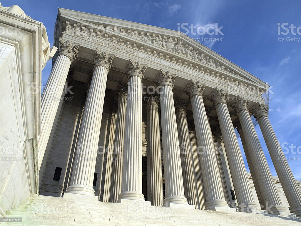 Supreme Court Washington DC royalty-free stock photo
