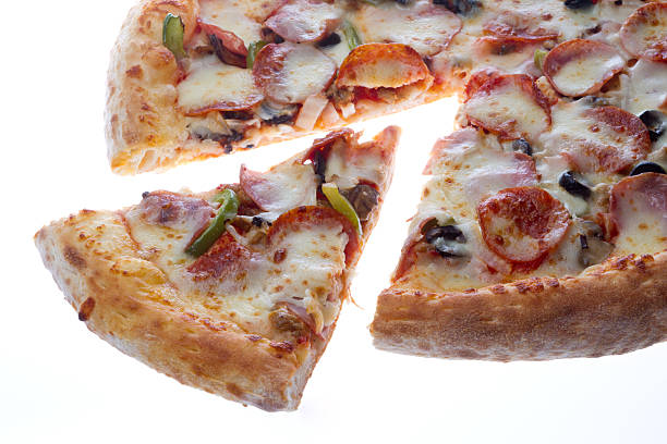 Supreme Pizza stock photo