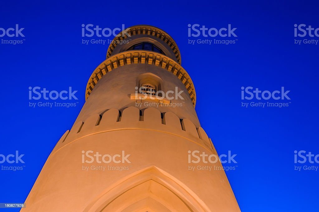Sur Lighthouse royalty-free stock photo