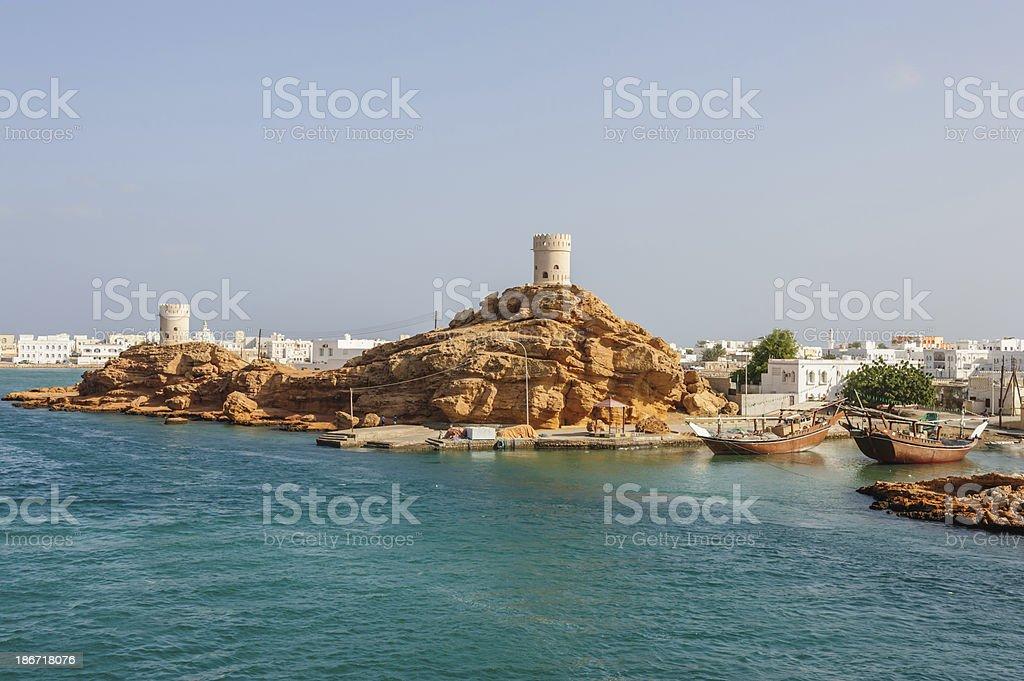 Sur Oman stock photo