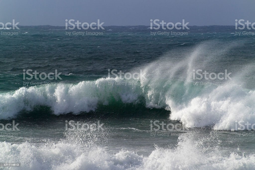 Surf and waves stock photo