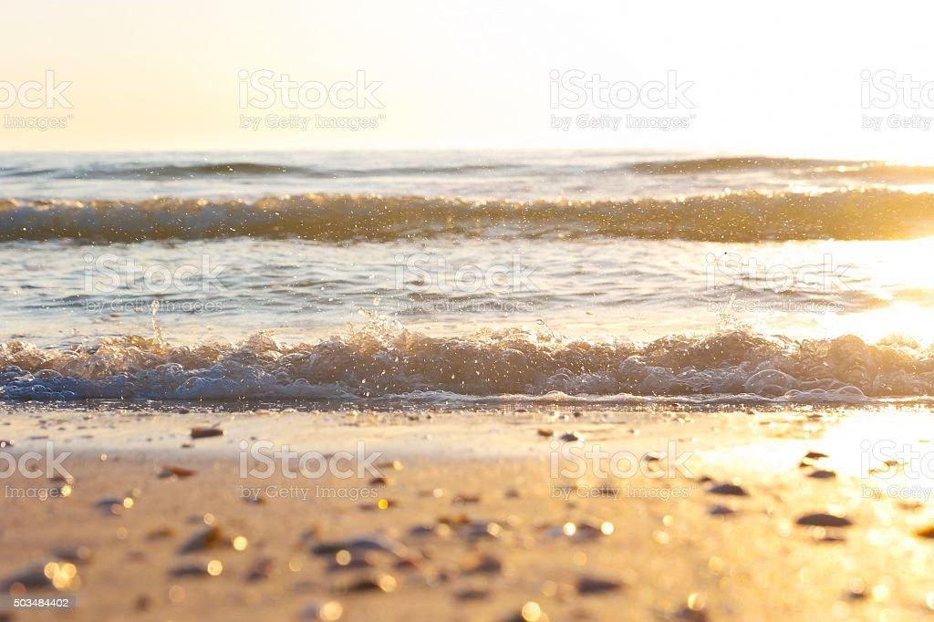 Surf at surface level stok fotoğrafı