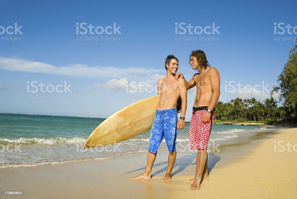 Surf Boys royalty-free stock photo