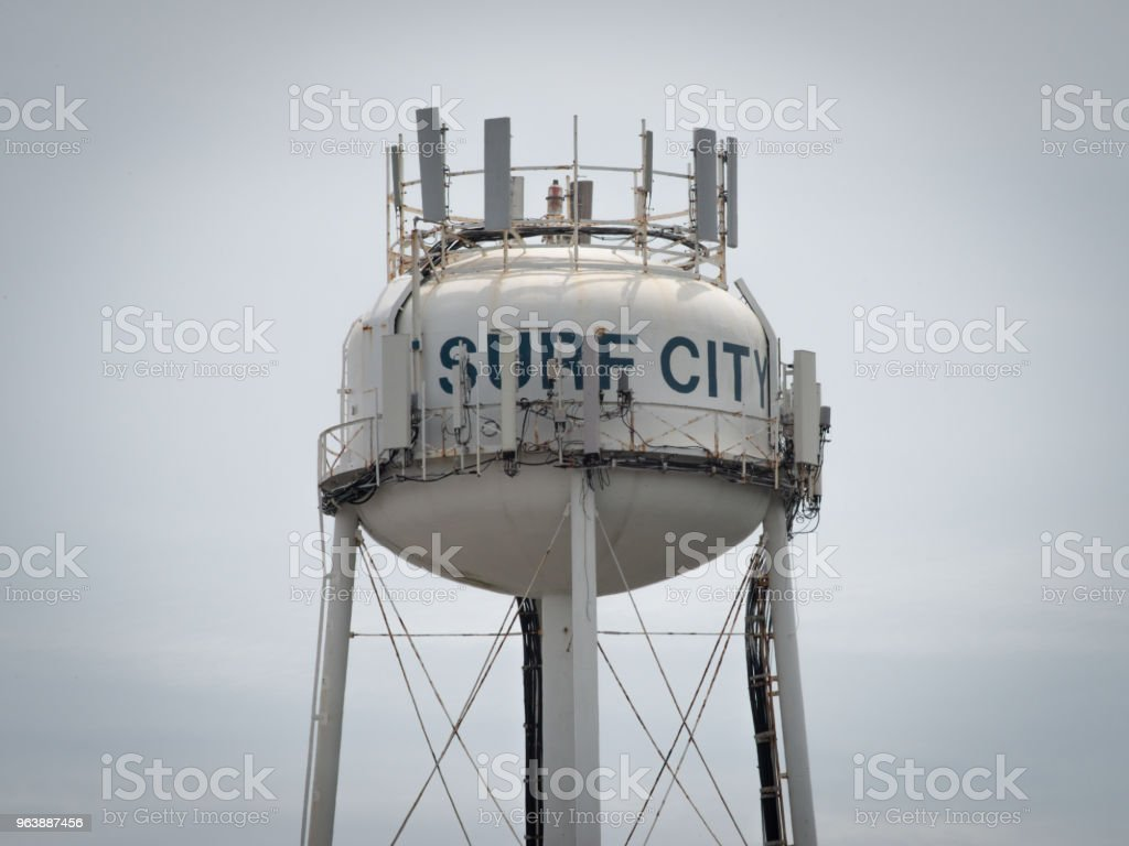 Surf City Watertower - Royalty-free City Stock Photo