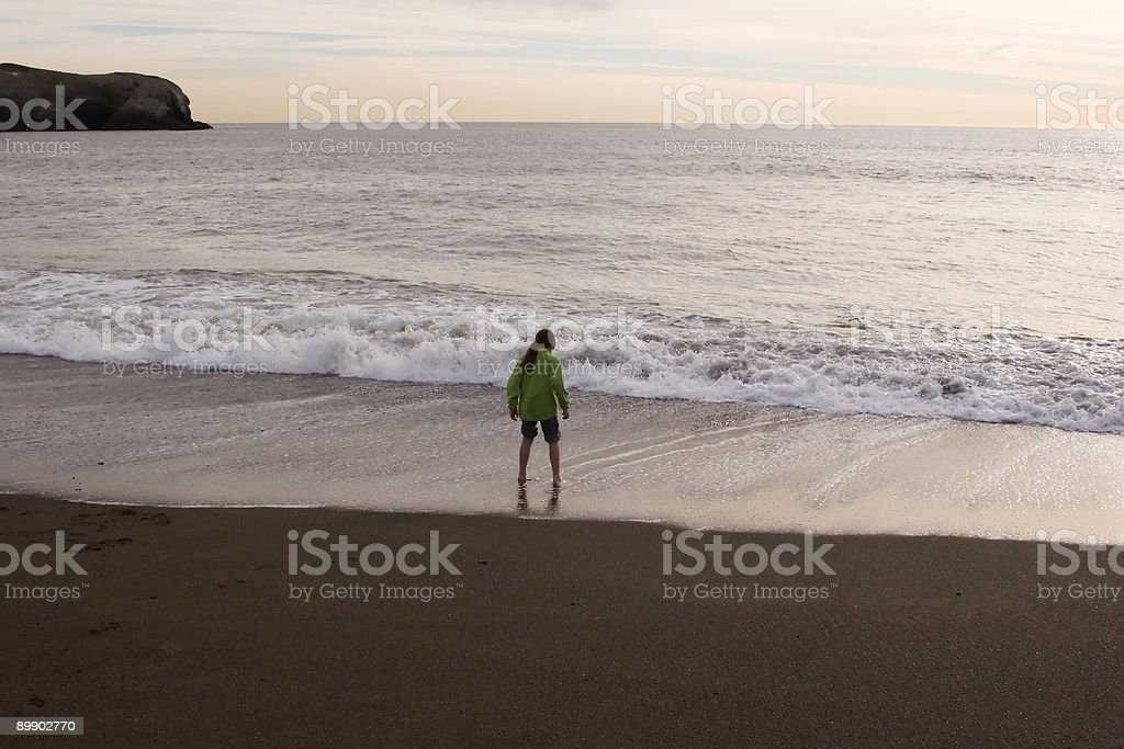 Surf Edge royalty-free stock photo