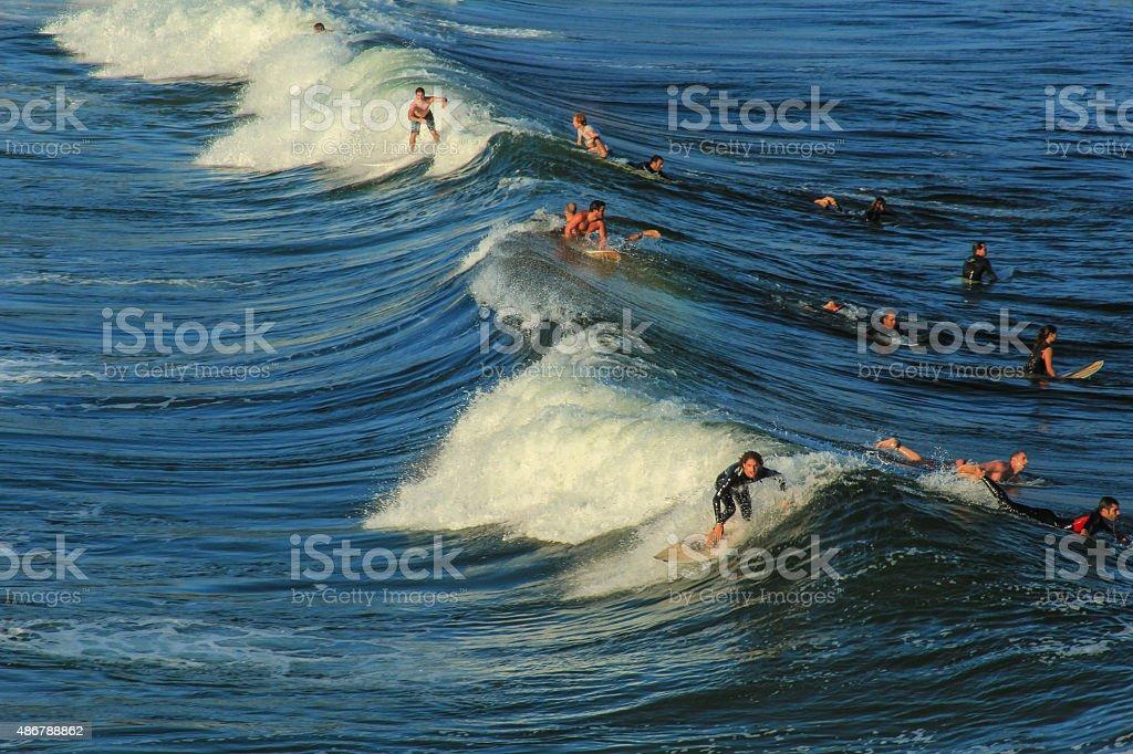 Surf in Rio stock photo