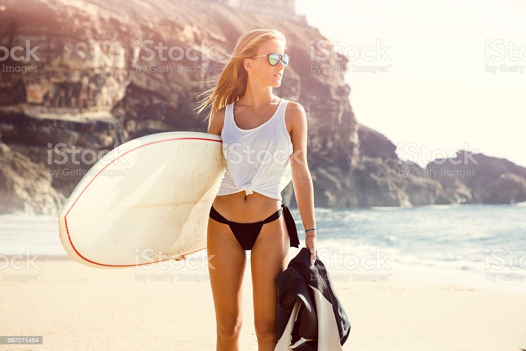 Surf is my passion photo libre de droits