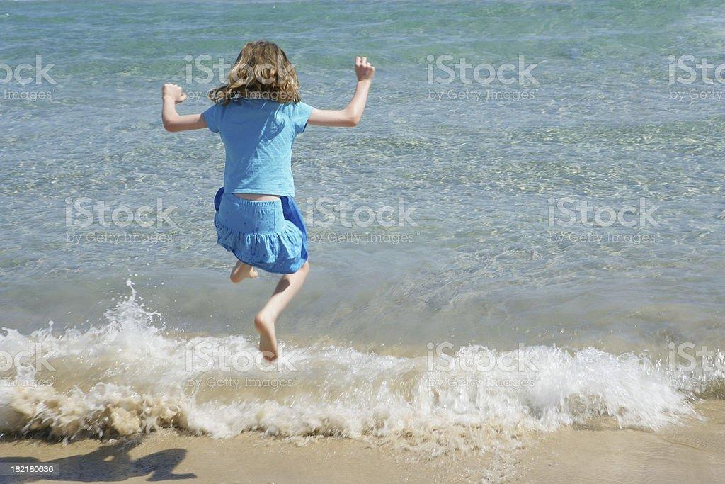 Surf Jumping stock photo