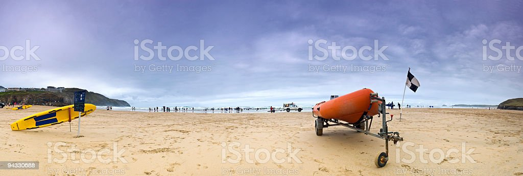 Surf patrol stock photo