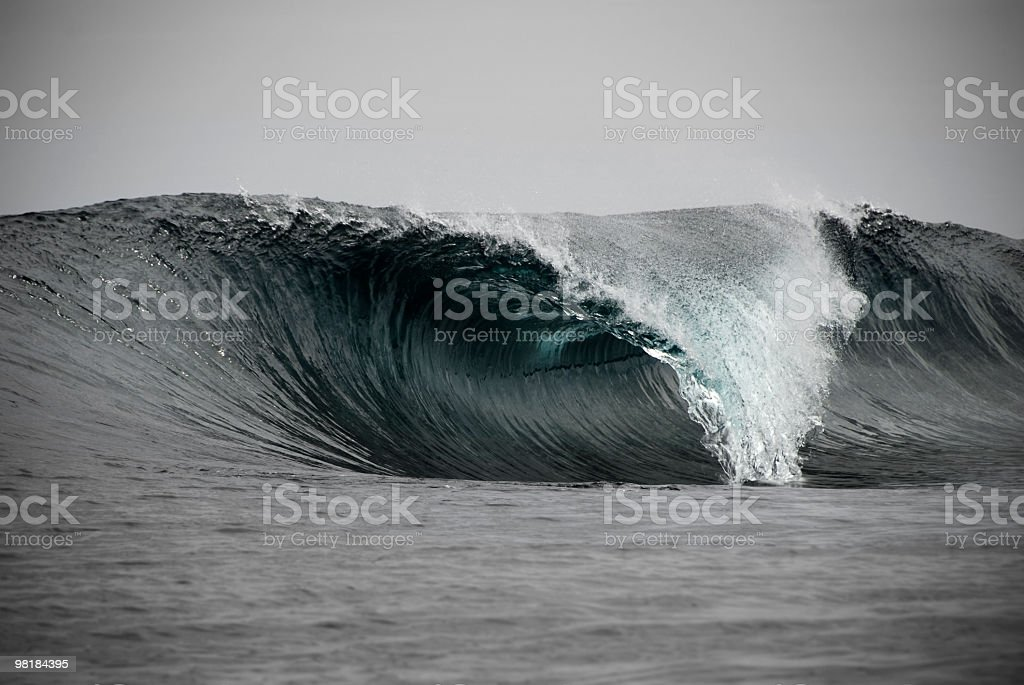 Surf Perfection royalty-free stock photo